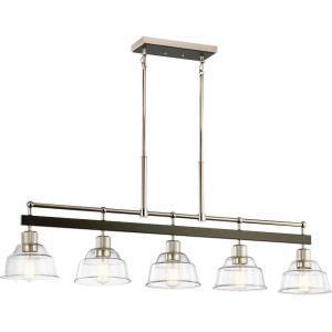 Eastmont - 5 Light Linear Chandelier