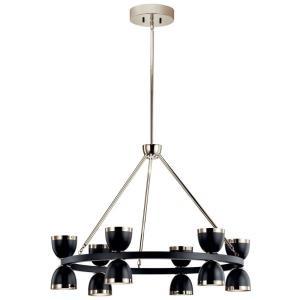 Baland - 31 Inch 12 LED Large Chandelier