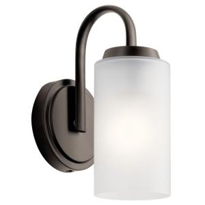 Kennewick - 1 Light Wall Sconce - with Traditional inspirations - 9.75 inches tall by 4.75 inches wide