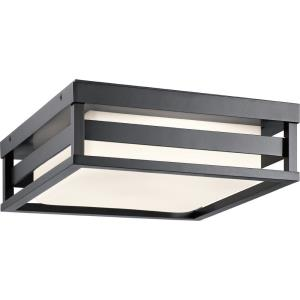 Ryler - 23W 1 LED Outdoor Flush Mount - 12 inches wide