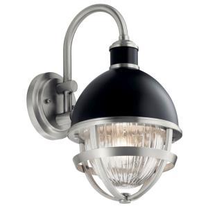 Tollis - 1 Light Small Outdoor Wall Lantern