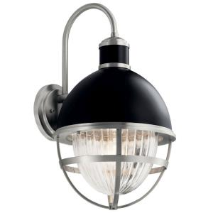 Tollis - 1 Light Large Outdoor Wall Lantern - 21.25 inches tall by 12 inches wide