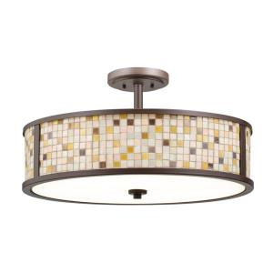 Blythe - Five Light Convertible Semi-Flush Mount