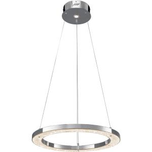 Crushed Ice - 24 Inch 2 LED Round Chandelier