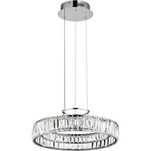 Annette - 17.5 Inch 1 LED Round Chandelier