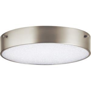 Crystal Moon - 11.75 Inch 1 LED Flush Mount