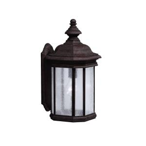 Kirkwood - 1 light Outdoor Wall Mount - with Traditional inspirations - 17 inches tall by 8.5 inches wide