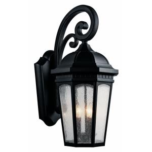 Courtyard - Three Light Outdoor X-Large Wall Mount