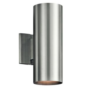 Two Light Small Outdoor Wall Mount