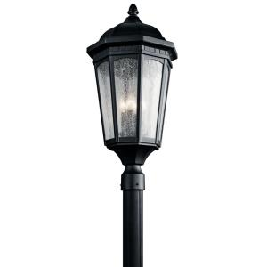 Courtyard - 3 light Post - with Traditional inspirations - 27 inches tall by 12.25 inches wide