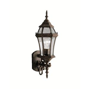 Townhouse - One Light Outdoor Wall Bracket
