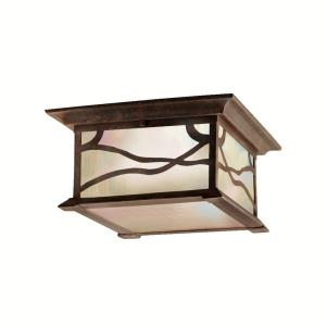 Morris - Two Light Outdoor Flush Mount