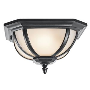 Salisbury - Two Light Outdoor Flush Mount