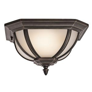 Salisbury - 2 light Outdoor Flush Mount - 13.5 inches wide