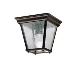 New Street - One Light Outdoor Flush Mount