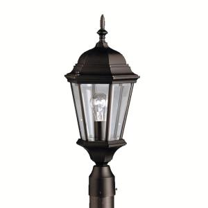 Madison - 1 light Outdoor Post Mount - with Traditional inspirations - 21.75 inches tall by 9.5 inches wide