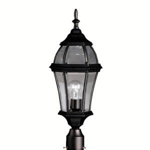 Townhouse - 1 light Post Mount - 24.25 inches tall by 9.25 inches wide