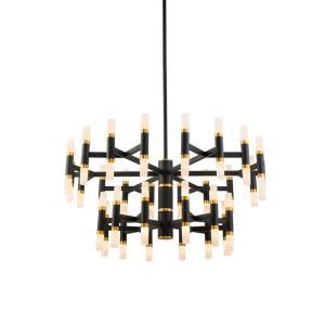 Draven - 32 Inch 180W LED 2-Tier Chandelier