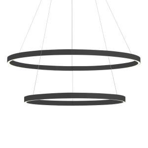 Cerchio - 31.5 Inch 168W 1 LED 2-Tier Round Chandelier