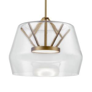 Deco - 17.75 Inch 29W 1 LED Pendant