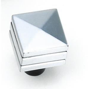 Kama Collection 0.875 Inch Square Knob