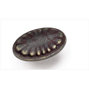 Windsor Collection 1.625 Inch Flower Oval Knob