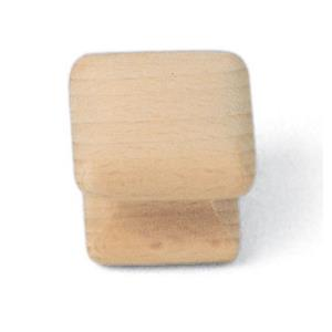 Au Collection 1.25 Inch Square Knob