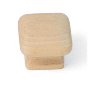 Au Collection 1.50 Inch Square Knob