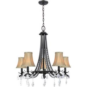 Macy - Five Light Chandelier