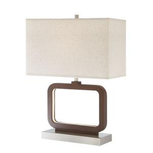 Leonard - One Light Table Lamp with LED Night Light