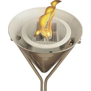 Flame - One Light Torchiere Lamp