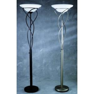 Majesty - One Light Torchiere Floor Lamp