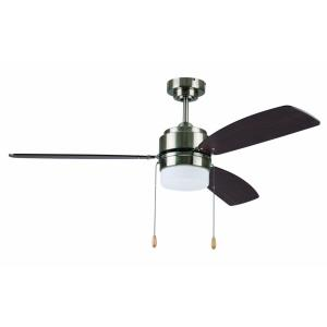 Ausmus - Single Light LED Ceiling Fan - Rated for Damp Locations