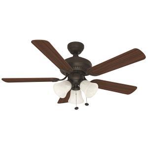 "Balmoral - 44"" Three Light Ceiling Fan"