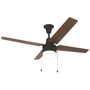 """Wakefield - 48"""" Single Light Ceiling Fan"""