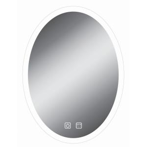 """32"""" 21W LED Oval Bathroom Mirror"""