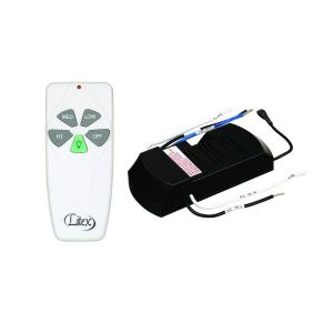 Three Speed Remote Control with Light Dimming Feature