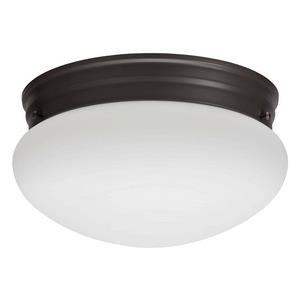 Mushroom - One Light Flush Mount
