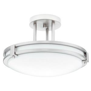 Saturn - One Light Convertible Flush Mount