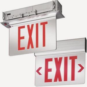 """13"""" 3W Two Sided LED Emergency Exit Sign"""
