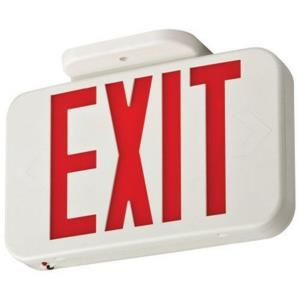 "Contractor Select - 11"" 0.8W 1 LED Emergency Exit Sign Light"