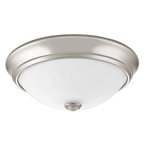 "Essentials - 10"" 20W 3000K 1 LED Decor Round Flush Mount"