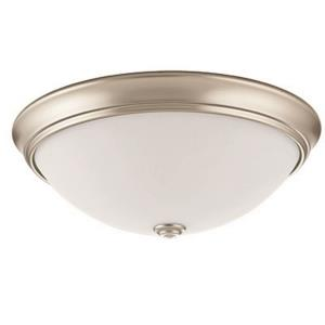 "Essentials - 14"" 30W 4000K 1 LED Decor Round Flush Mount"