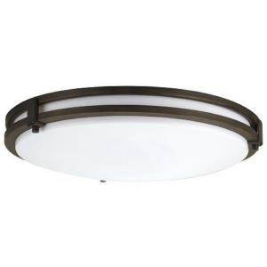 "Saturn - 16"" 3000K 23W 1 LED Square Flush Mount"
