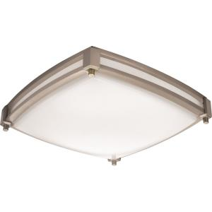 "Saturn - 12.56"" 16W LED Square Flush Mount"