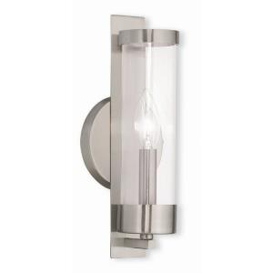 Castleton - 1 Light ADA Wall Sconce in Castleton Style - 4.75 Inches wide by 12 Inches high