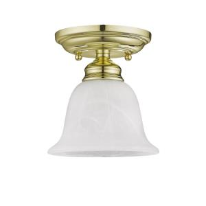 Essex - One Light Semi-Flush Mount