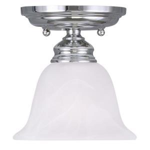 Essex - One Light Semi-Flush Mount