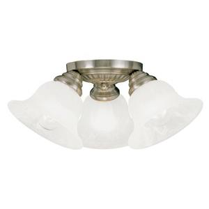 Edgemont - Three Light Semi-Flush Mount