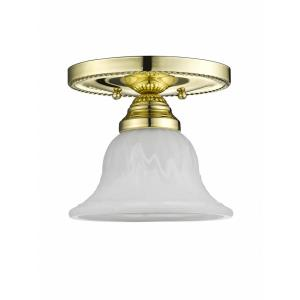 Edgemont - One Light Semi-Flush Mount